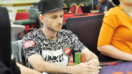 Benjamin Gonzva tops Main Event Day 1B; Wang Ping Yuan wins NLH 1 Day