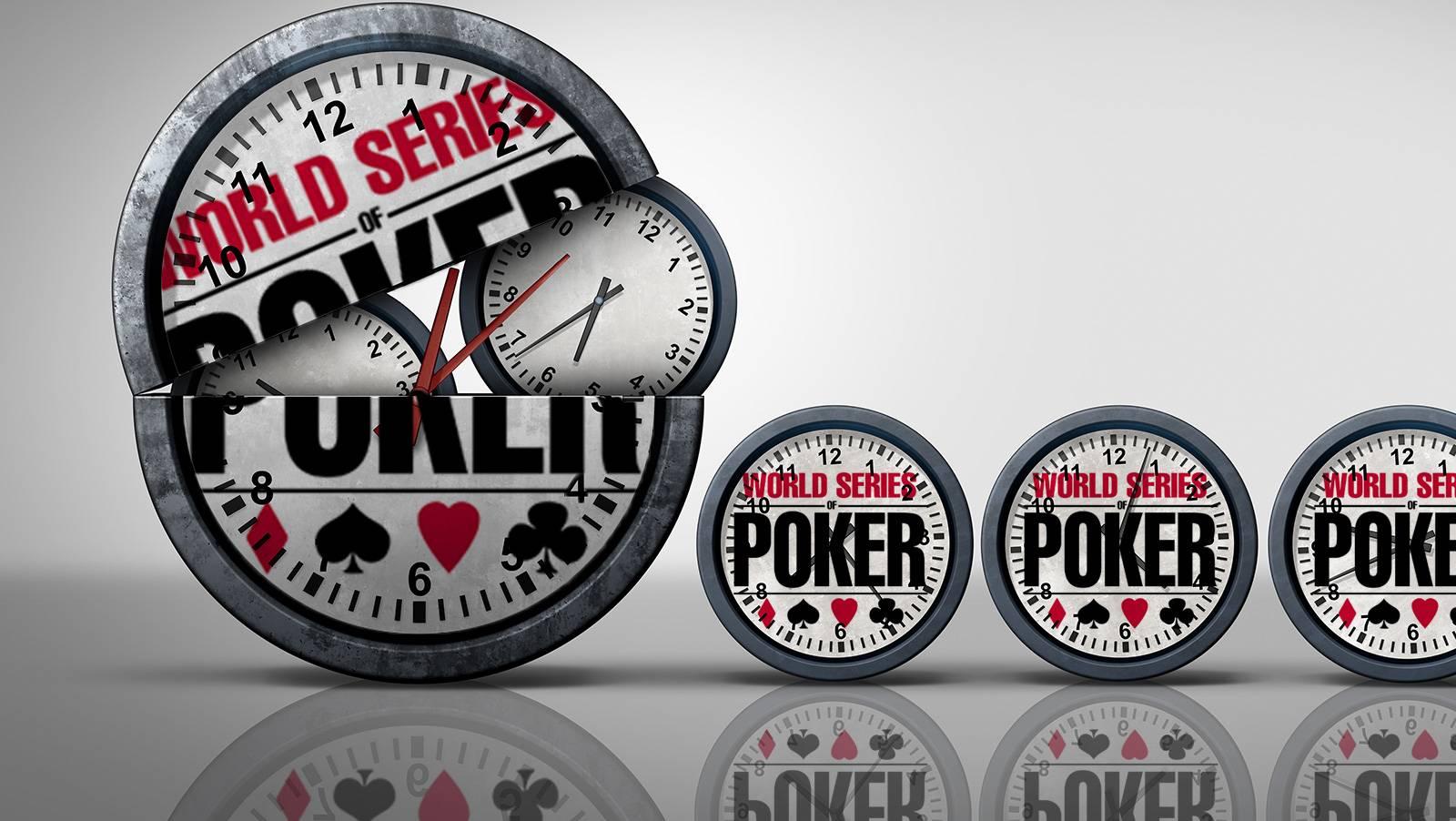 Calling The Clock: WSOP Schedule; Aussie Millions & More