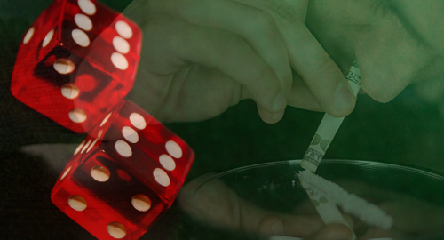 cocaine-gambling