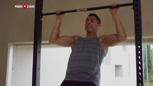 CRISTIANO RONALDO AND DWYANE WADE PUT THEIR FITNESS TO THE TEST IN A BID TO #RAISEIT