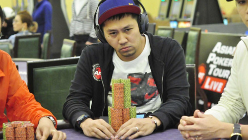Czardy Rivera emerges as the chip leader in Main Event Day 2