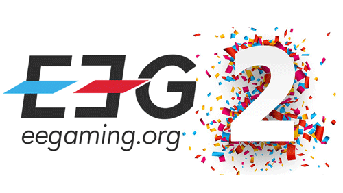 EEGaming is celebrating 2 years of activity with a redesign and new features