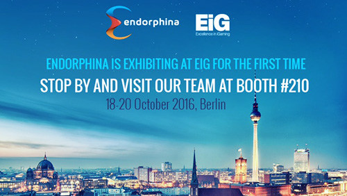 Endorphina is going to EiG 2016!