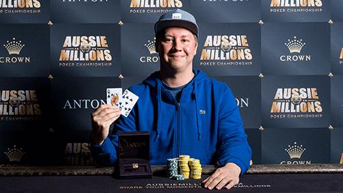 Event 26 recap – 2017 Aussie Millions Poker Championship