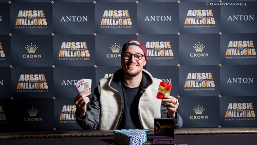 Event twenty five recap 2017 - Aussie Millions Poker Championship