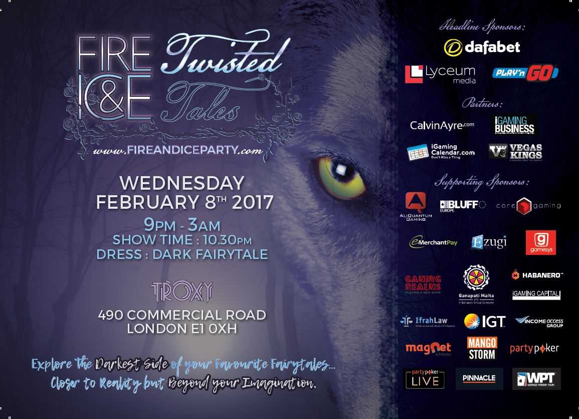 "Fire & Ice 2017 Preview – ""Twisted Tales"" descend upon London's Troxy on February 8th"