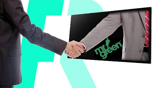 Front Runner welcomes Mr Green as TV company's first sponsor