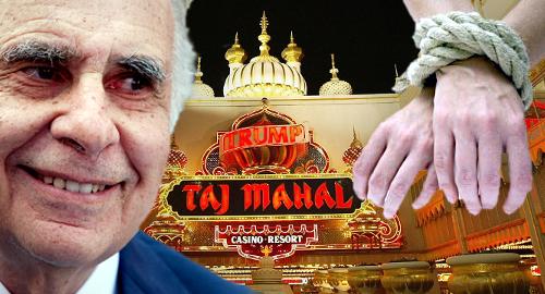 Icahn slaps deed restriction on AC's Trump Taj Mahal casino