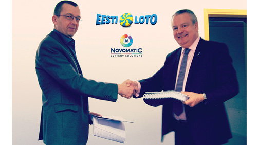 NOVOMATIC Lo¬ttery Solutions wins Seven Year Contract with Estonia's Eesti Loto to provide Central System and Player Account Management Solutions