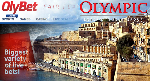 olympic-entertainment-malta-online-gambling-subsidiary