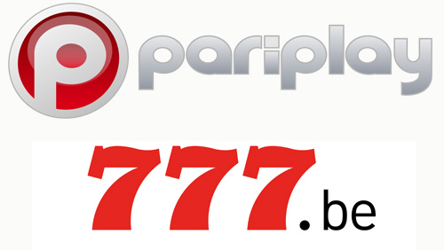 Pariplay Ltd. partners with 777.be online casino