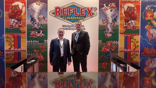 Reflex to sign William Hill deal at ICE