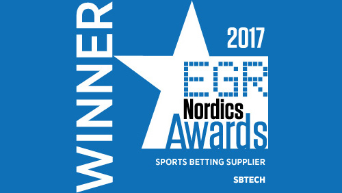 SBTech wins eGR Nordics Award for best sports betting supplier
