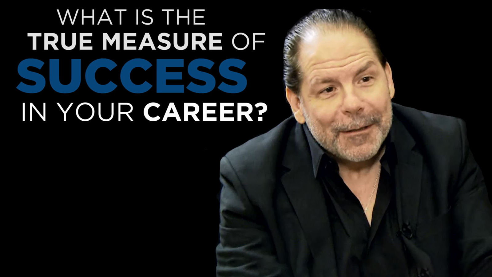 John English: Shared Experience - What is the True Measure of Success on your Career?