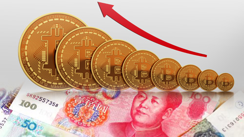 Sliding yuan spurs bitcoin to reach new all-time high