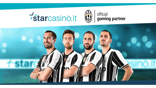 StarCasinò Announces Official Gaming Partnership With Juventus FC