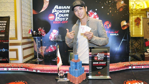 Takumi Samejima dominates the heads up round to capture the APT Main Event title!