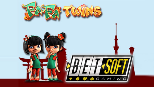 Betsoft Gaming Releases Newest Slots3™ title - FA FA TWINS