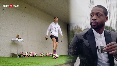 Cristiano Ronaldo and Dwyane Wade showcase impressive skills with drones to bring PokerStars #raiseit campaign to a close
