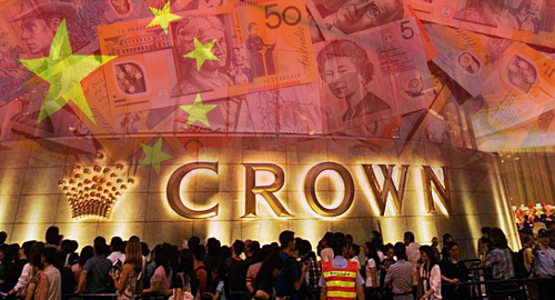 Crown's VIP turnover tumbles 45% following China arrests