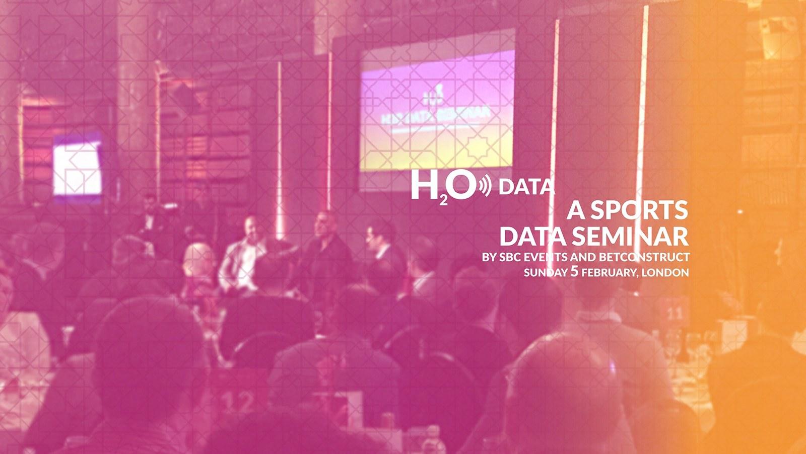H2O Sports Data Seminar 2017 Recap