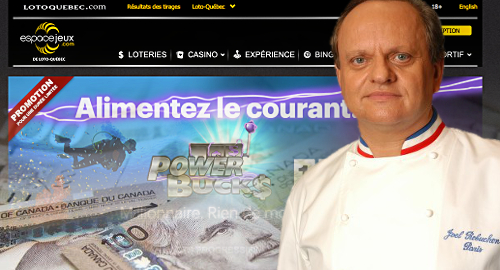 Loto-Quebec's online gambling gains, French chef pains