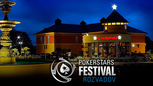 POKERSTARS FESTIVAL HEADS TO ROZVADOV FOR THIRD STOP