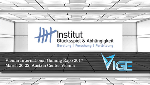 VIGE2017 announces new Silver Sponsor, the Institute of Gambling & Addiction Austria