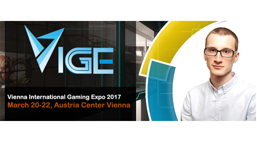 VIGE2017 announces new speaker, Potapenko Vadim (DM at Slotegrator)