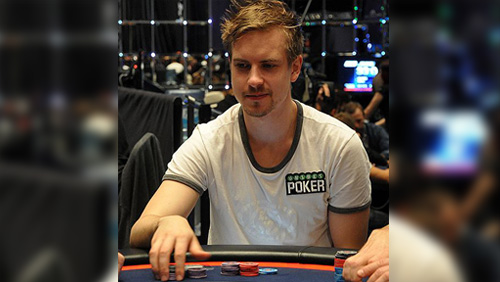 Viktor Blom appearing in Unibet Open London