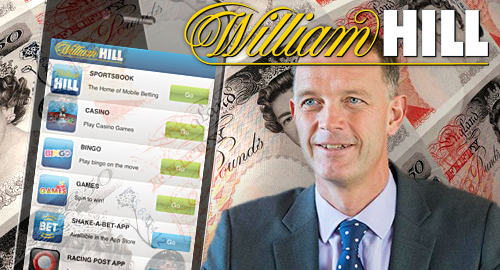 "William Hill's profit down double-digits in ""challenging year"""
