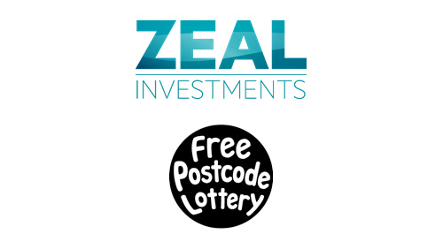 ZEAL Investments injects £1 million into Free Postcode Lottery