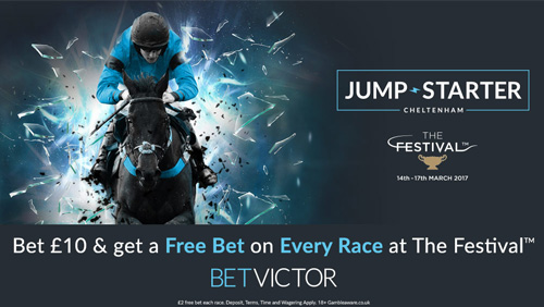 BetVictor launches headline new customer offer for Cheltenham Festival