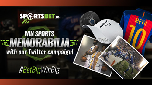 Bitcoin sportsbook Sportsbet.io launches Twitter competition