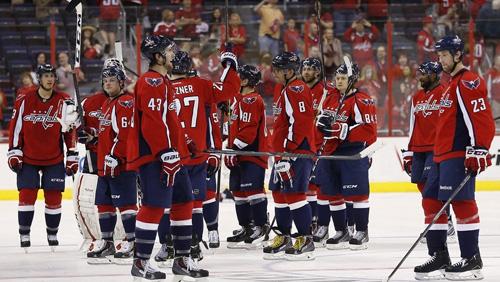 Capitals Atop Stanley Cup Odds Over Blackhawks, Wild, Penguins