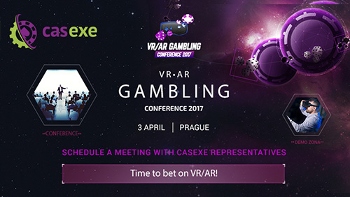 CASEXE became a participant and an information partner of VR/AR Gambling Conference