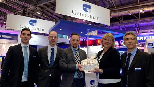 Gamesman celebrate at ICE