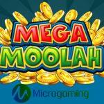 March jackpot on Microgaming's Mega Moolah
