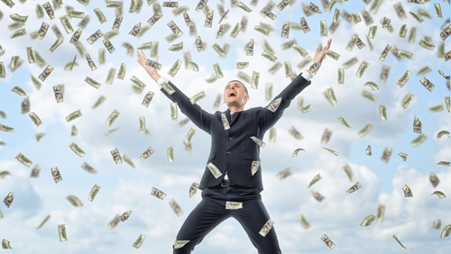 Money does buy happiness, says lottery group survey