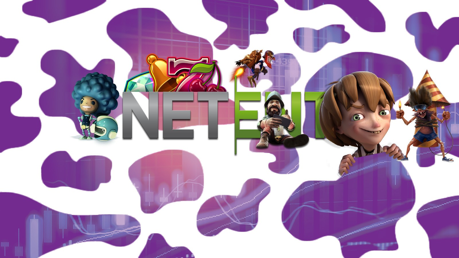 NetEnt succeeds because of the purple cow