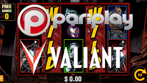 Pariplay Ltd. Launches Bloodshot® Video Slot