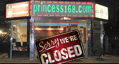 poipet-online-gambling-princess168-closed