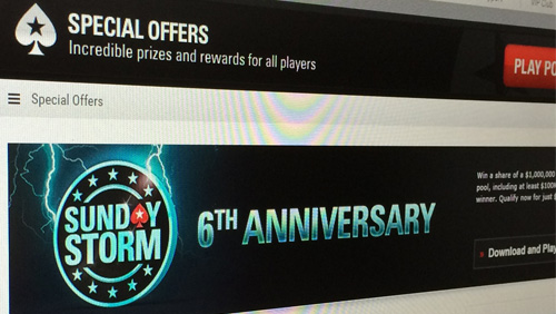 THERE'S A MILLION DOLLAR STORM COMING TO POKERSTARS