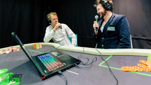 Unibet Ambassador Dave Lappin on The Chip Race; Jesus and the toilet