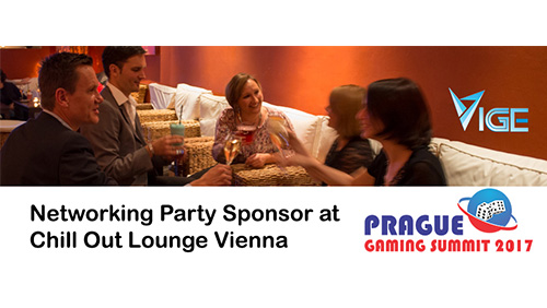 VIGE2017 Press Release for 07.03 - VIGE2017 announces Monday night Networking Party - Sponsored by Prague Gaming Summit