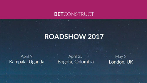BetConstruct Roadshow 2017: Next stops are Kampala, Bogota and LondonBetConstruct Roadshow 2017: Next stops are Kampala, Bogota and London