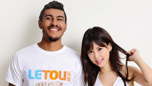 Brazilian Footballer Paulinho's Chinese gambling porn photo shoot hits the internet