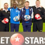 Leicester City legends Emile Heskey and Steve Walsh go head-to-head in Betstars rugby kicking challenge