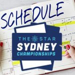 The ninth annual Star Sydney Championships release summer schedule