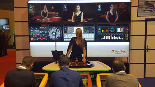 Spintec and its Spanish distributor Sente, presented various Karma multiplayer solutions and some novelties at Feria internacional del Juego in Madrid